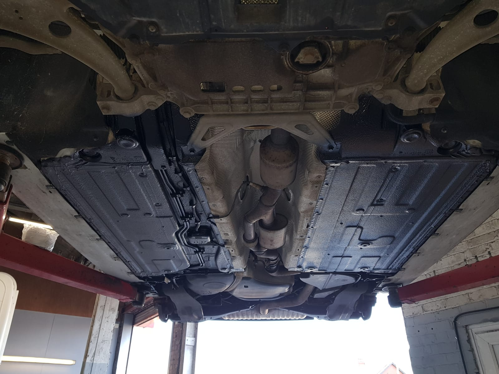 Leyland bodyshop